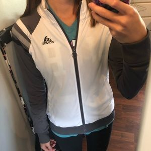 Adidas full zip jacket